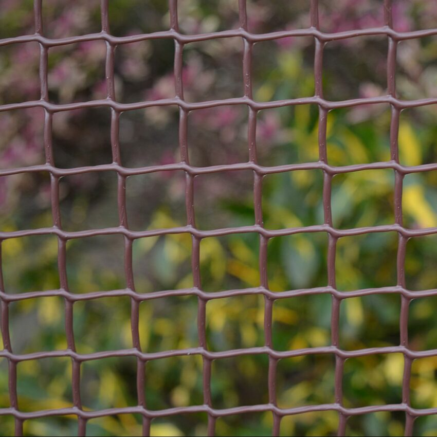 Brown-Plastic-Coated-Garden-Mesh