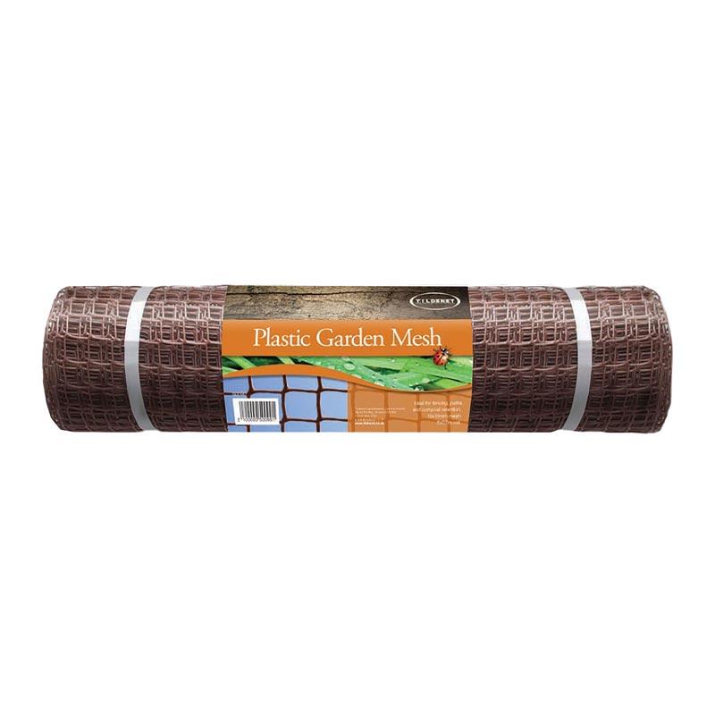 Brown-Plastic-Coated-Garden-Mesh
