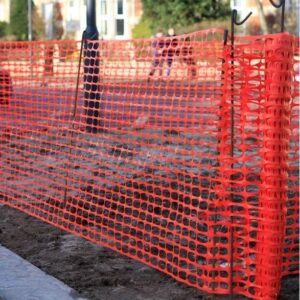 Orange-Barrier-Fence