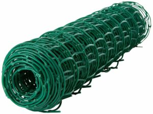 Green Garden Mesh Plastic Netting Wire Fence