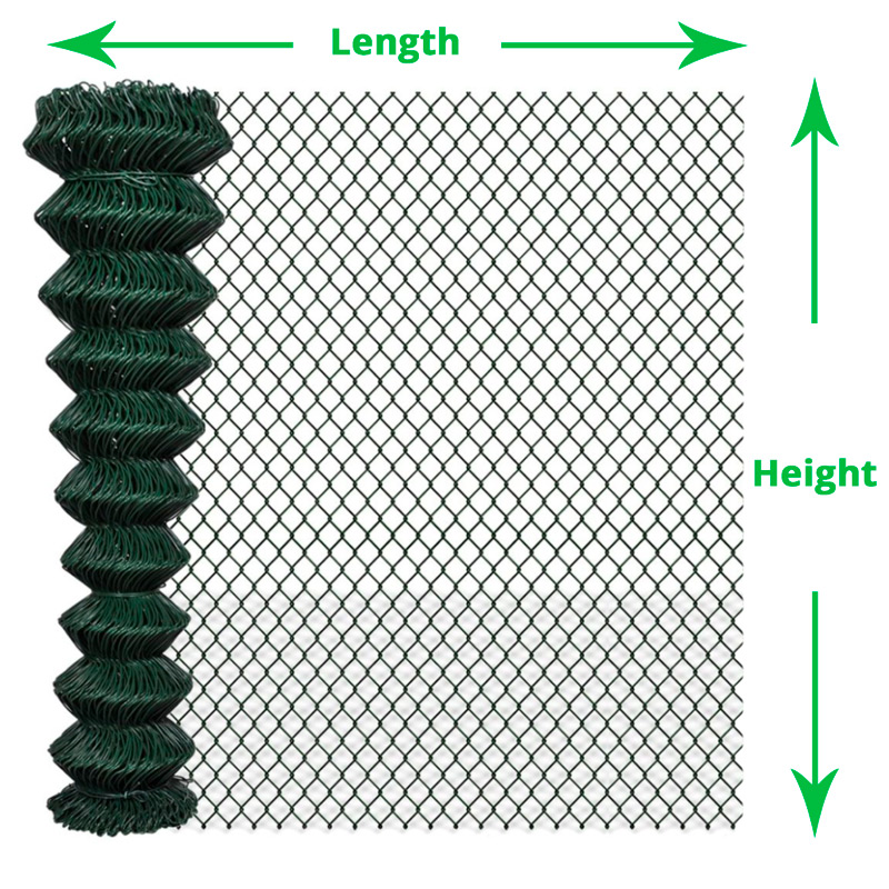 PVC-Green-Chain-Link-Fence-Length-and-Height-Diagram