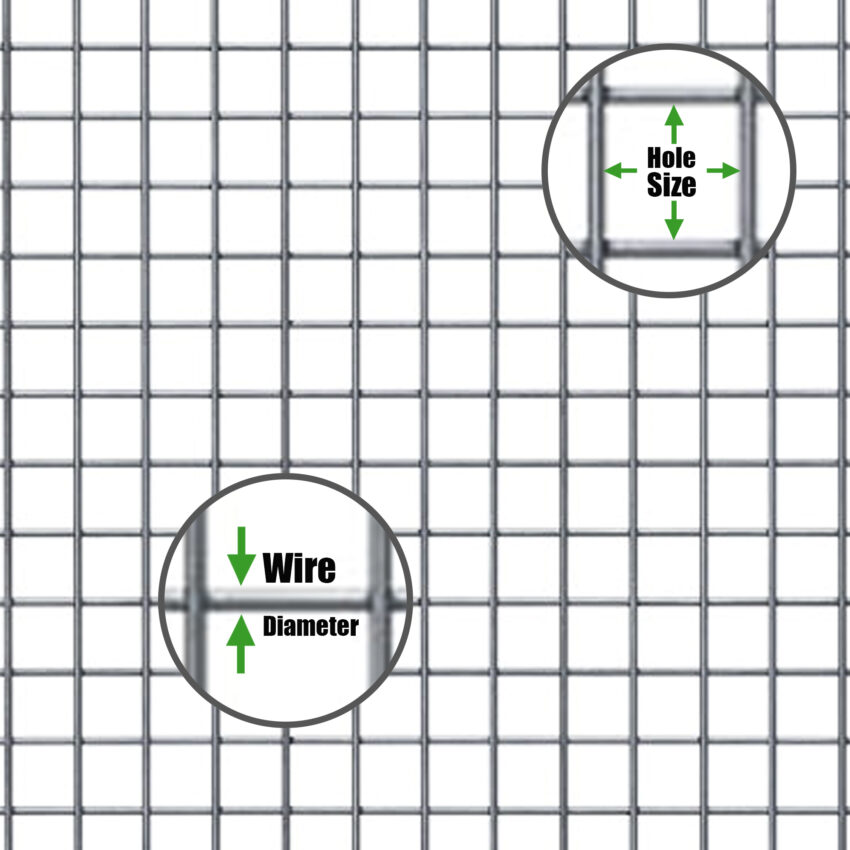 welded-mesh-hole-size-wire-diameter