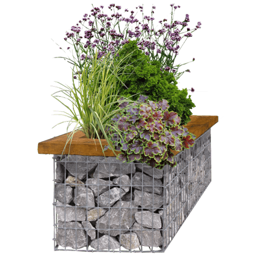 How to Make a Gabion Planter