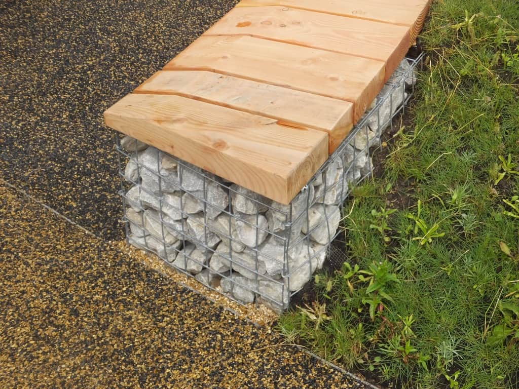 small-memorial-gabion-bench