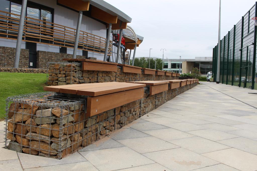 gabion-benches