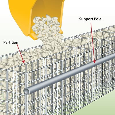 how-to-machine-fill-gabions-with-gabion-stone
