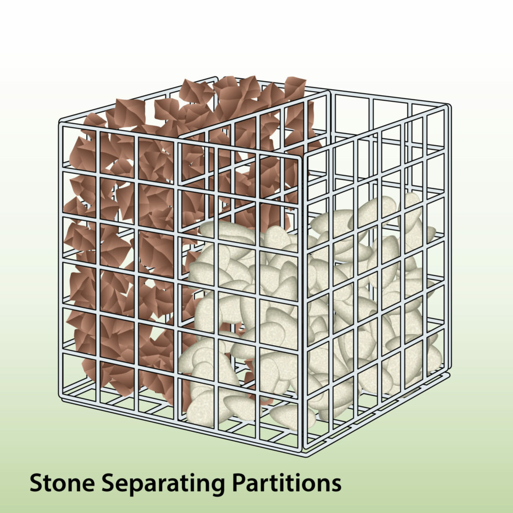 filling-gabion-with-rubble-and-stone-separating-panels