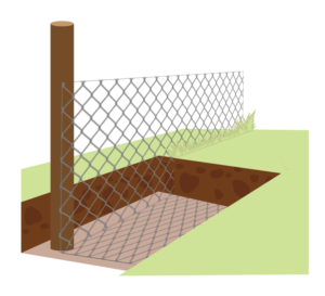 How to Install a Badger-Proof Fence