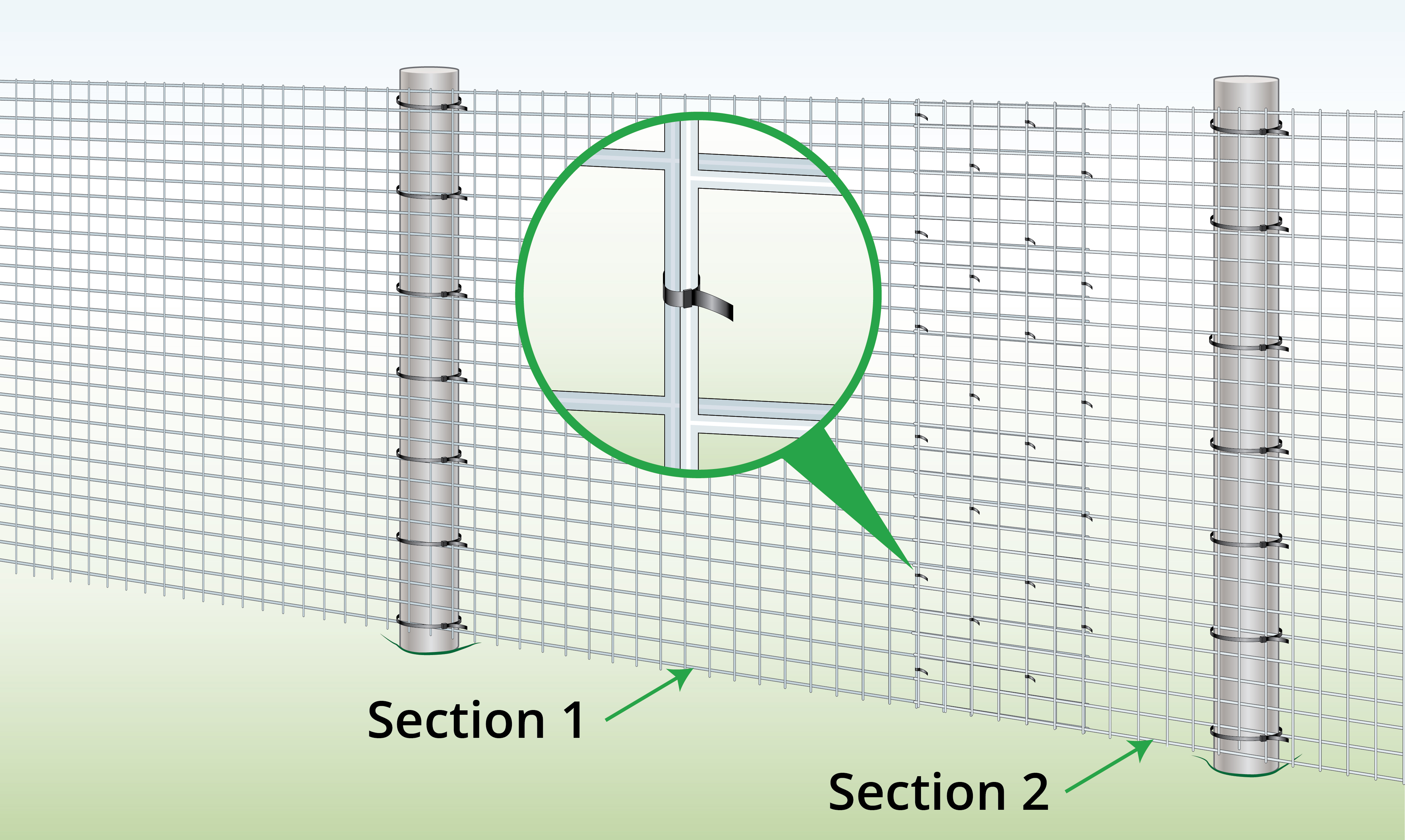extend-existing-welded-mesh