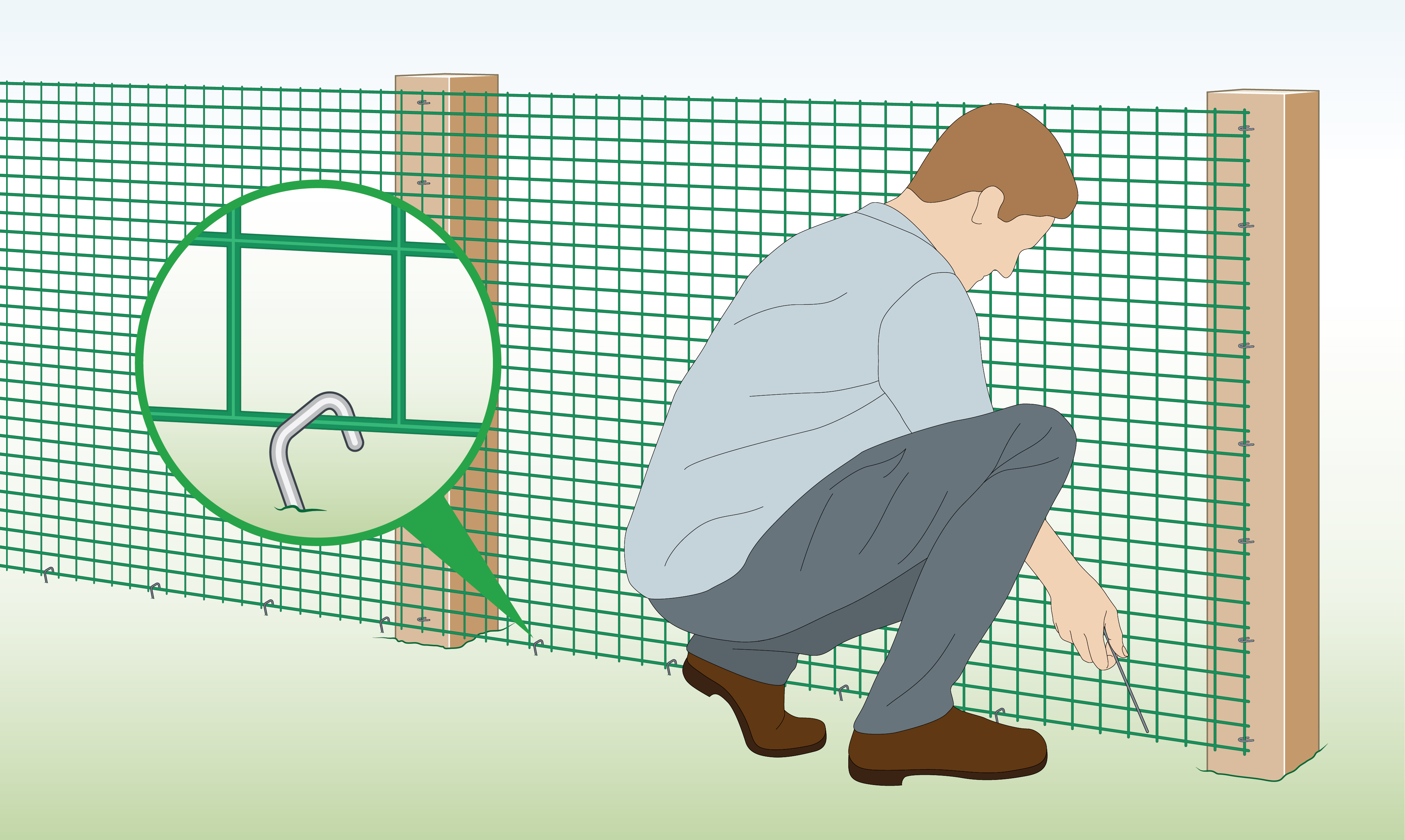fix-plastic-mesh-with-ground-pegs