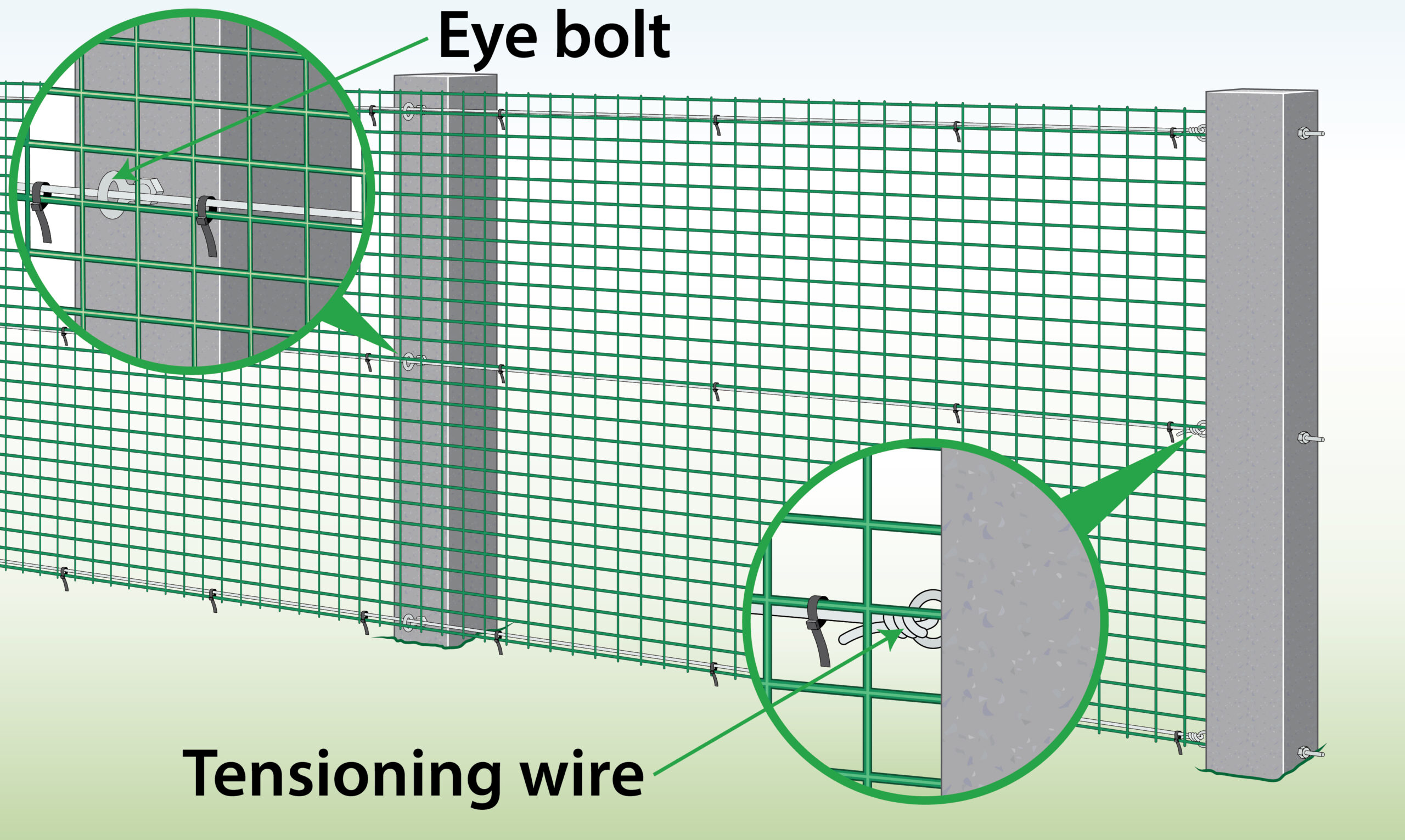 fix-plastic-mesh-to-tensioning-wire