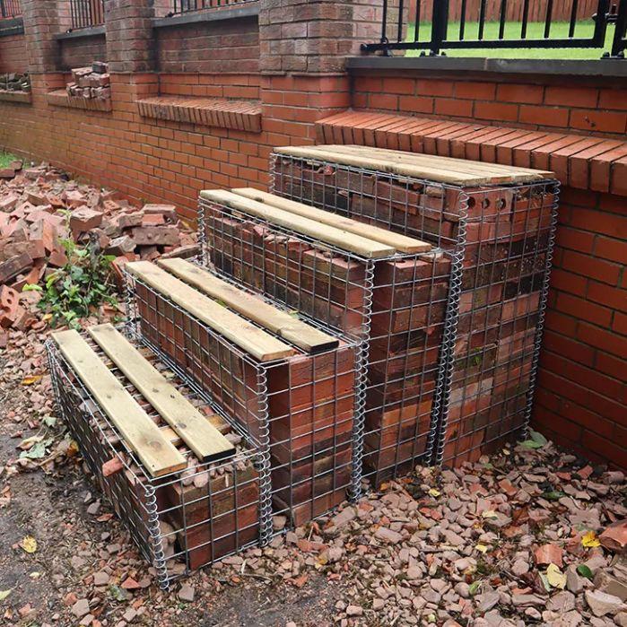 gabion-steps-filled-with-bricks